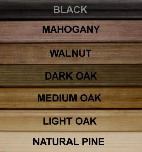Traditional Wine Rack Colour Sample