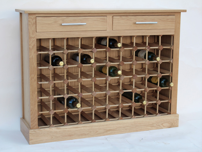60 Bottle Wine Rack Cabinet With, Wine Rack Cabinet