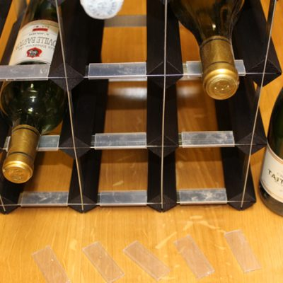 wine bottle label protectors