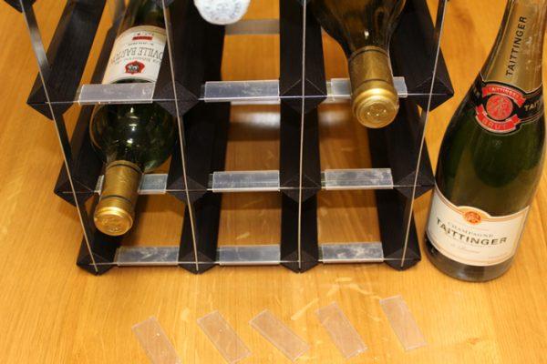 wine bottle label protectors