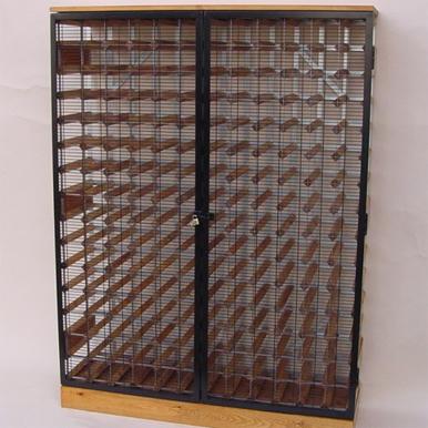 Lockable Wine Racks