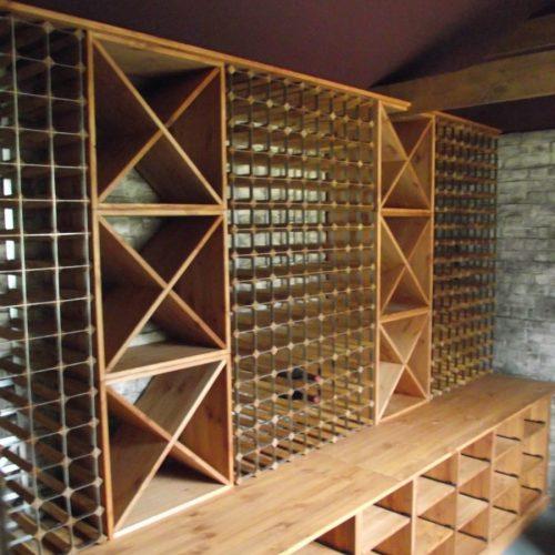 Traditional Wooden Wine Racks