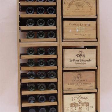 Showcase Wine Racking