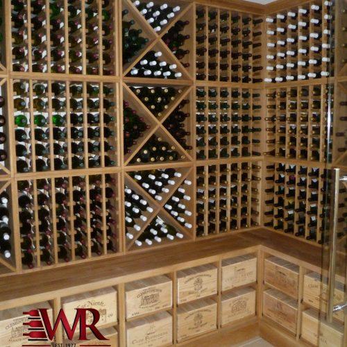 Solid Oak Wine Racks