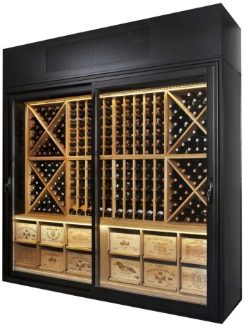 Wine Chiller Display Cabinet