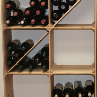 Wooden Racks, Cases and Cubes